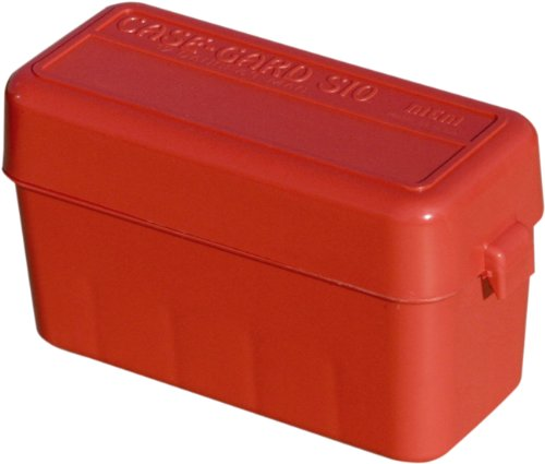 MTM Shotshell 10 Round Flip-Top Ammo Case (Red)