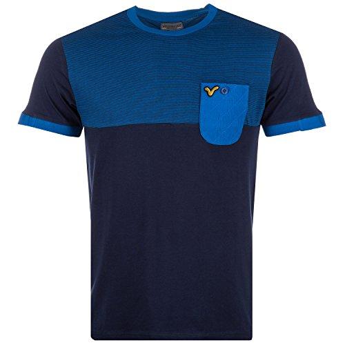 Voi Jeans, Glenwood, Herren-T-Shirt, marineblau