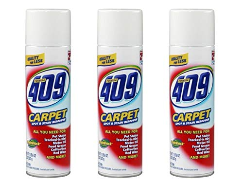 409 Carpet Cleaner - 22 ounces (Pack of 3)