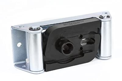 Daystar KU71121BK Winch Isolator, Roller Fairlead, Black, Fits Smittybilt Roller Fairleads