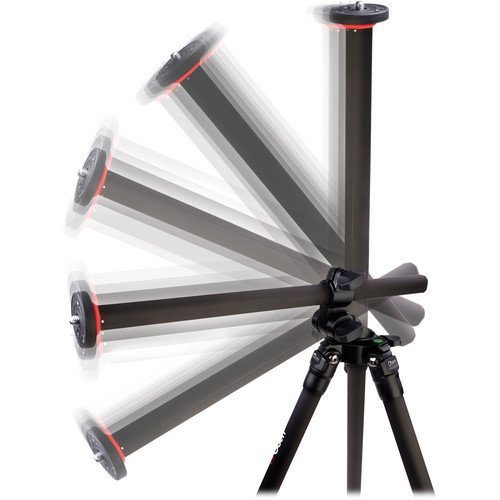 Oben AC-2361L 3-Section Aluminum Lateral Tripod Legs