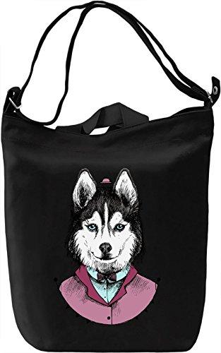 Classy husky Borsa Giornaliera Canvas Canvas Day Bag| 100% Premium Cotton Canvas| DTG Printing|