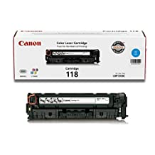 Genuine Canon Toner Cartridge 118, Cyan
