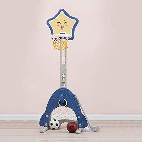 バスケットボールネットとスタンド、バスケットボールスタンドを持ち上げる子供、3〜6歳の屋内撮影機器