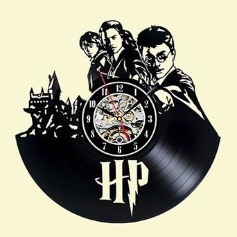Harry Potter Hermione Vinyl Record Clock