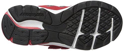 New Balance KV888V1 Pre Running Shoe (Little Kid) Red/black