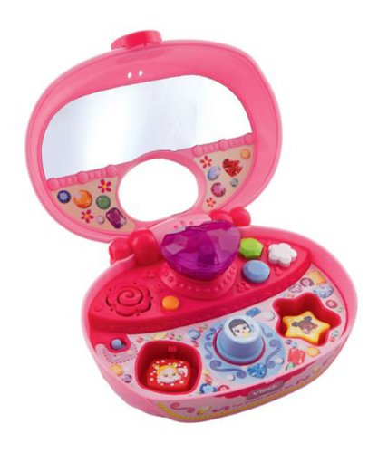 Amazoncom VTech Fun Shapes Jewelry Box Pink Toys Games