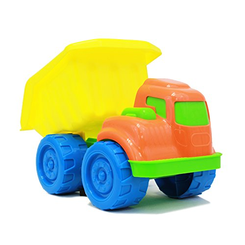 Boley Dump Truck Toy for Toddlers - Educational baby dump truck toy with interactive dumping capabilities and vibrant colors for baby sensory development