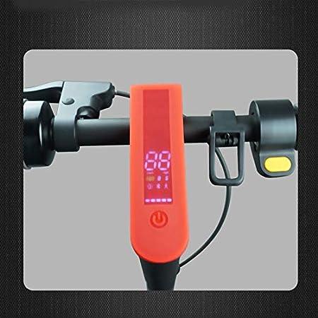 Copertura Pannello Cruscotto per Mijia Ninebot Max G30 Accessori per Skateboard Scooter Elettrico Giallo Semoic Coperture Protettive Professionali nel Gel di Silice Impermeabile