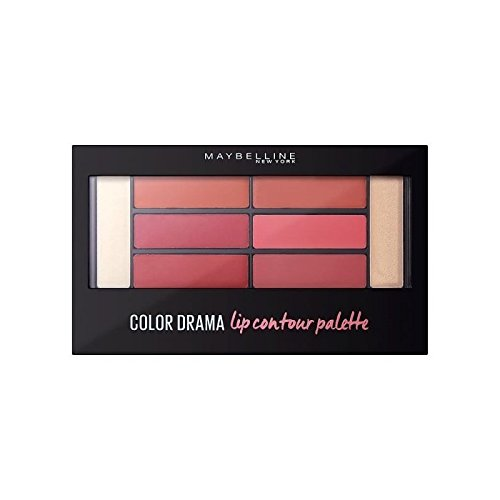 Maybelline Lip Contour Palette - Blushed Bombshell (Pack of 6) - メイベリンリップ輪郭パレット - 赤らめた爆弾 x6 [並行輸入品] B071NHDVX6