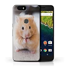 STUFF4 Phone Case / Cover for Huawei Nexus 6P / Golden Hamster Design / Cute Pet Animals Collection