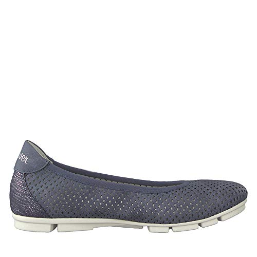 Comb oliver Femme chaussures D'été Blue S 22 sportif Ballerines 22100 Classiques OFCvFqxPw