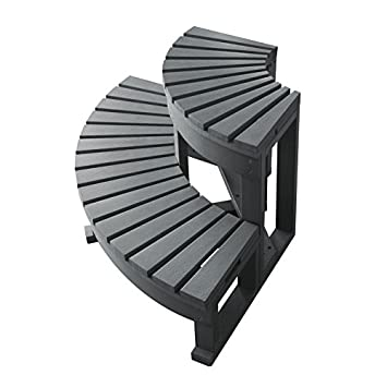 Cool Treppe Eck 2 Stufen für spa-gris: Amazon.de: Garten OA33
