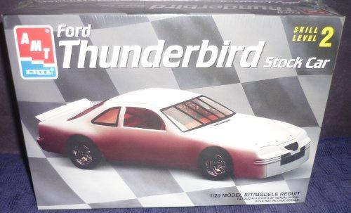 (#6296 AMT Ford Thunderbird Stock Car 1/25 Scale Plastic Model Kit)