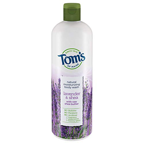 Tom's Of Maine Moisturizing Body Wash, Lavender & Shea, 16 Oz