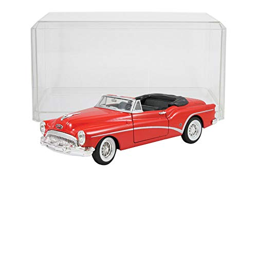 Johnson Smith Co. (Set) 1953 Buick Skylark Die Cast w/ Display Case - 1:24 Scale Metal - 1953 Buick