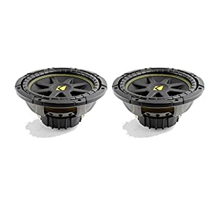 "2) New KICKER 10C104 Comp 10"" 600 Watt 4 Ohm Car Subwoofers Combo C10 10C10-4"
