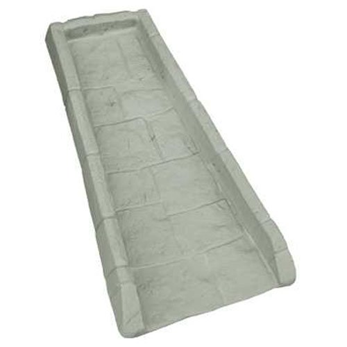 Suncast SB24 Rain Gutter Downspout Splash Block, Light Taupe