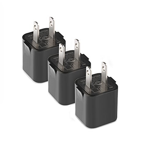 Cheap Wall Chargers HONGGE USB Wall Charger, 1A/5V Universal Portable Travel Adapter High Speed 1.0A..