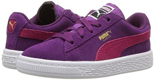 PUMA Baby Suede Kids Sneaker, Dark Purple-Love Potion, 10 M US Toddler by PUMA (Image #6)