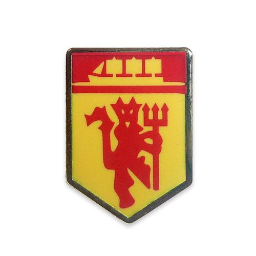 Manchester United OFFICIAL MANCHESTER UNITED F.C. MINATURE CREST DEVIL & SHIP PIN BADGE ()