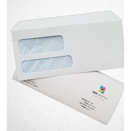 Double Window Self Seal Security Envelopes For Quickbooks By - Quickbooks invoice envelopes