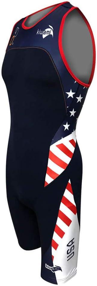 Kiwami Mens Rio Amphibian Nation Trisuit Trisuits Trisuits Triathlon Men USA