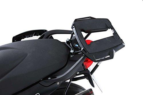 Hepco & Becker Alurack Topcase Mount/Luggage Rack - BMW F 800 R F800R - Black - 650.657 01 01 Hepco Becker Top Case