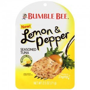 (Bumble Bee®, Seasoned Tuna Pouch, 2.5oz Pouch (Pack of 8) (Lemon Pepper))