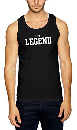 Nr. 1 Legend Muscleshirt Black