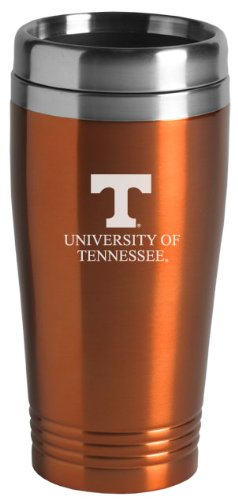 (University of Tennessee - 16-ounce Travel Mug Tumbler - Orange)