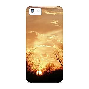 RulrKvo6791lXaSw Case Cover Goreous Country Sunrise Iphone 5c Protective Case