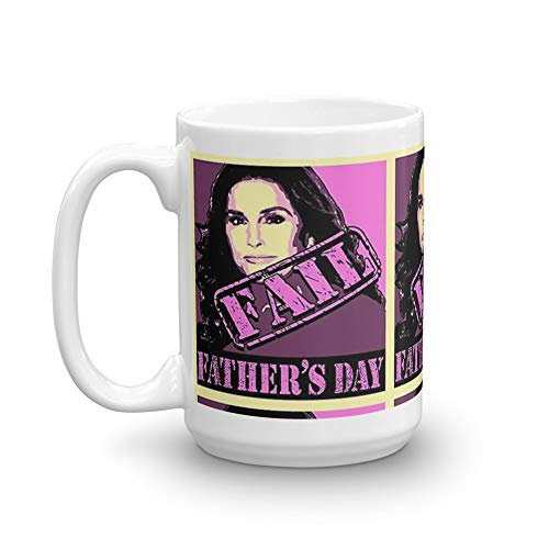 Caitlyn Jenner Father's Day Fail Mug 15 Oz White Ceramic