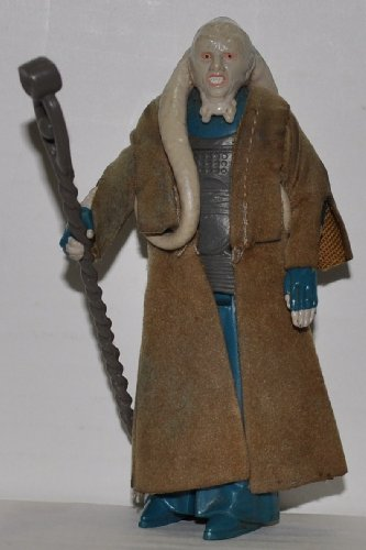 Vintage Bib Fortuna with Cloak & Staff (1983) - Star Wars Universe Action Figure - Collectible Replacement Figure Loose (OOP Out of Package & Print) Print Vintage Bib