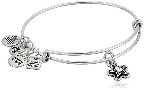 Alex and Ani Charity By Design, True Wish EWB Rafaelian Silver Bangle Bracelet by Alex and Ani