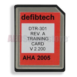Training Kit Conversion Card (AHA G2005/2010) for Older Kits - DTR-301 Dtr Card