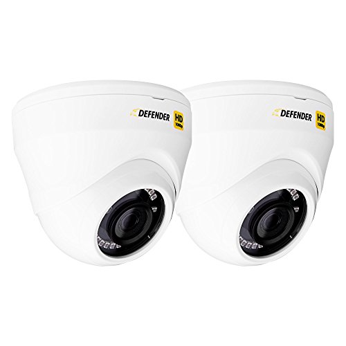 Defender Indoor/Outdoor CCTV Cameras (2-Pack) White HDCD2