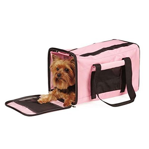 East Side Collection On The Go Duffle Bag Carrier, Pink by East Side Collection (East Pet Side Carrier Collection)