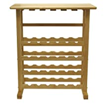 Winsome Wood 83024 Bottle Wine Rack, Natural