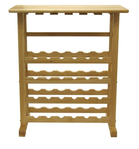 24-bottle Wine Rack - Beechwood by Winsome Wood