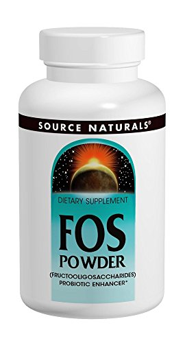 Source Naturals FOS Fructooligosaccharides Powder, Probiotic Enhancer, 7.05 Ounces (Best Sources Of Prebiotics)