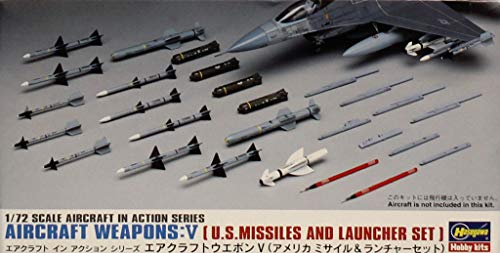 (Hasegawa 1:72 US Aircraft Weapons V US Missiles & Launchers Detail #35009 #X72-9)