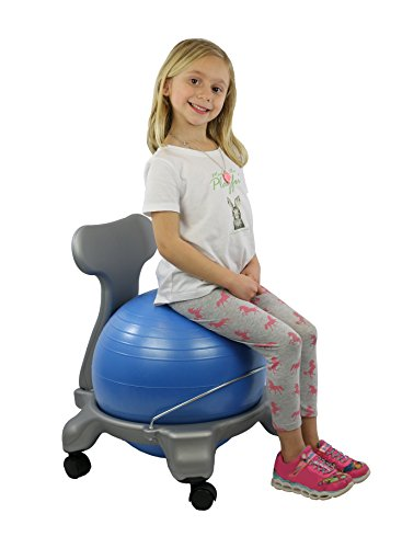 CanDo Plastic Mobile Ball Chair, Child Size, 15'' by Cando (Image #3)
