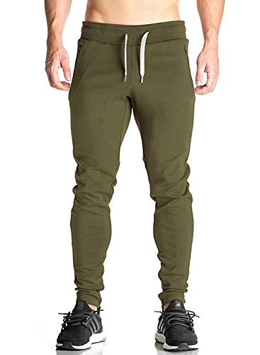 workout Products : Ouber Men's Fitted Shorts Bodybuilding Workout Gym Running Jogger Pants