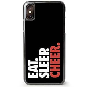 newest f9e69 90ffa Cheerleading iPhone 6 Plus Case | Eat. Sleep. Cheer. | Black