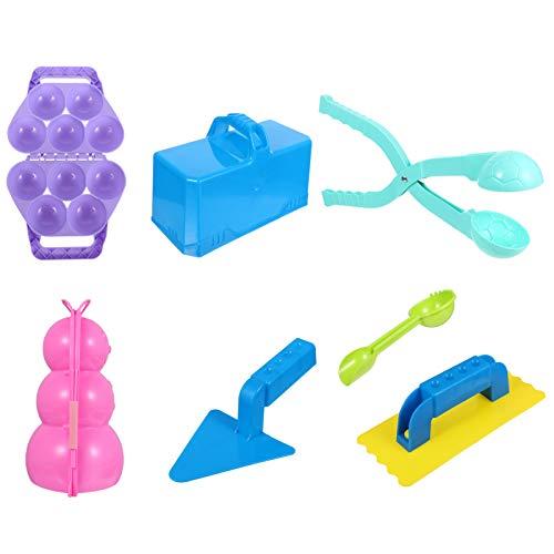 CLISPEED 5 Stks Sneeuw Speelgoed Sneeuwbal Maker Tool Winter Outdoor Spelen Sneeuw Fort Building Kit Voor Kinderen…