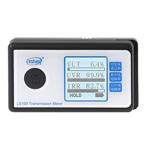 Sarora LS162 Window Tint Meter Solar Film Transmission Meter VLT UV IR Rejection Tester