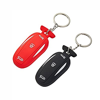 LFOTPP Silicone Car Key Cover [1 Pack]