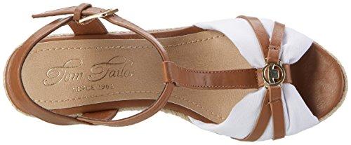 Tom Tailor 2790203 - Tira de tobillo Mujer Braun (camel-white)
