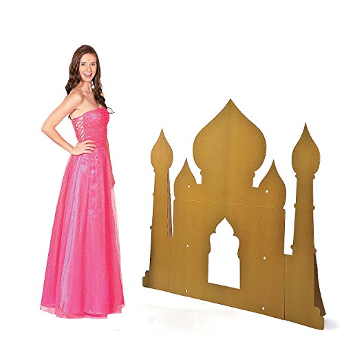 Arabian Palace Silhouette Cardboard Stand-Up (Arabian Party Decorations)